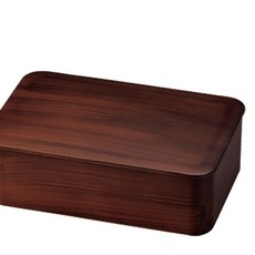 Hakoya Hakoya - Ensemble Bento en Grain de bois et couverts