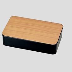 Hakoya Hakoya - Hakoya - Woodgrain Bento Box L & Cutlery Set