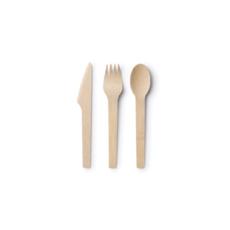 Bambu Bambu - Bamboo Cutlery - Set of 24