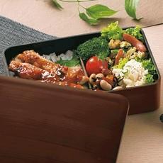 Hakoya Hakoya - Woodgrain Bento Box  - 600ml