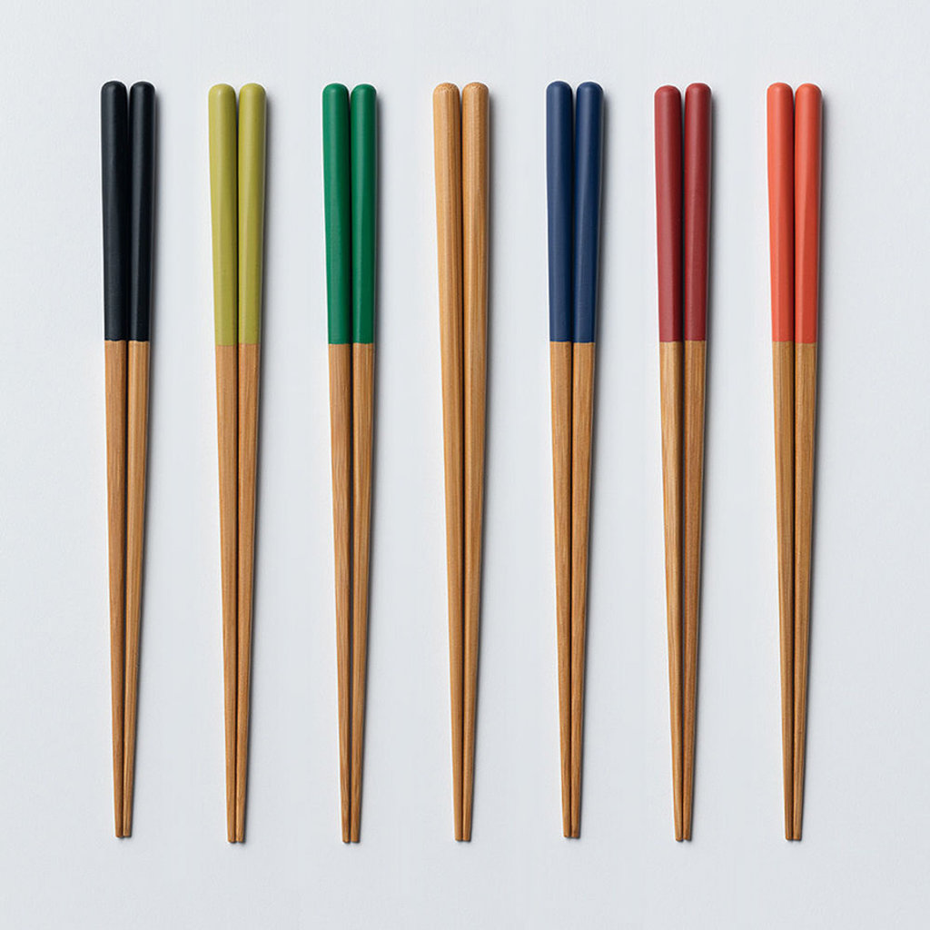 YAMACHIKU Baguettes - bambou ronde pour adultes