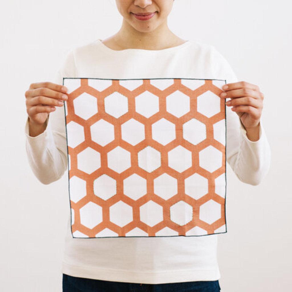 Hirali Hirali - Embroidered Handkerchief x Collab w/ Bus House
