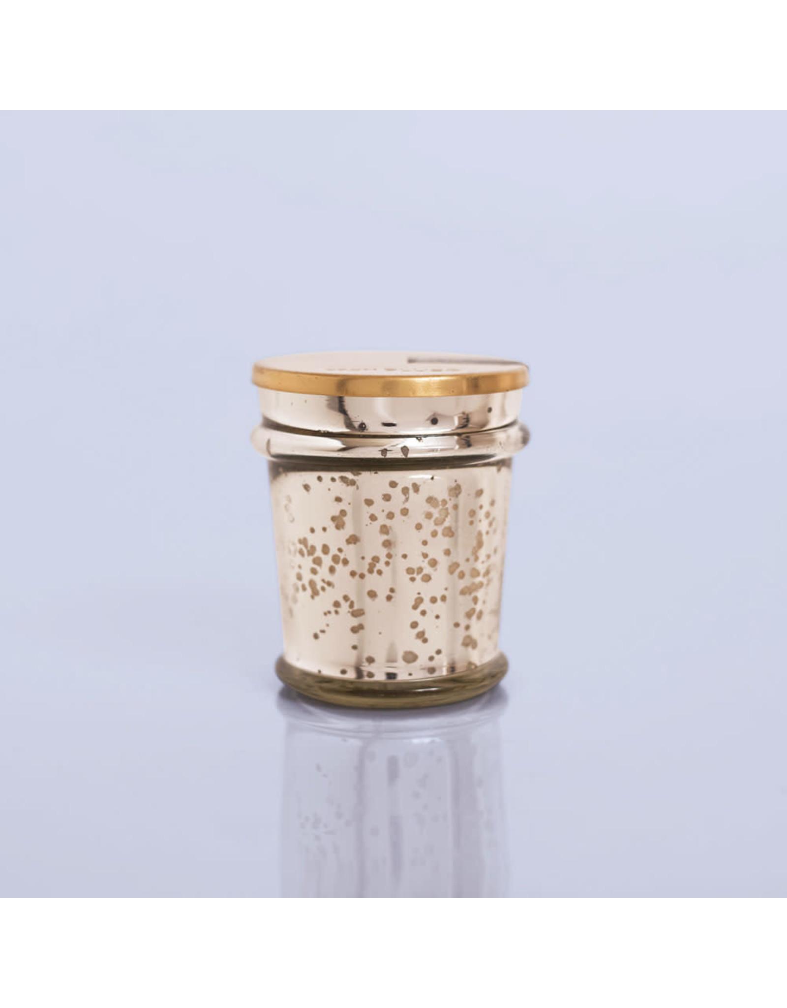 Capri Blue Volcano Mercury Found Glass Candle