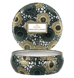 Voluspa Voluspa 3 Wick Decorative Tin