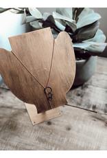 Helen Wang HW Y-Shape Ball Chain Necklace