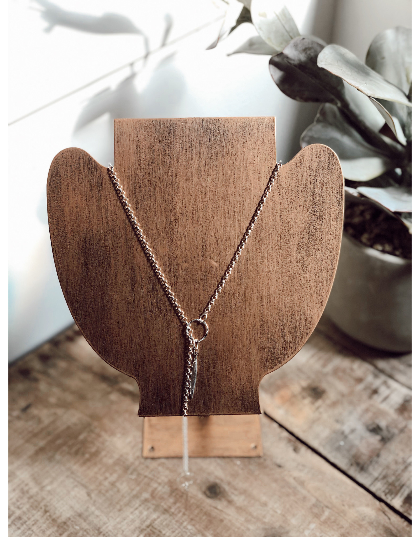 Helen Wang HW Lariat Sterling Silver Necklace
