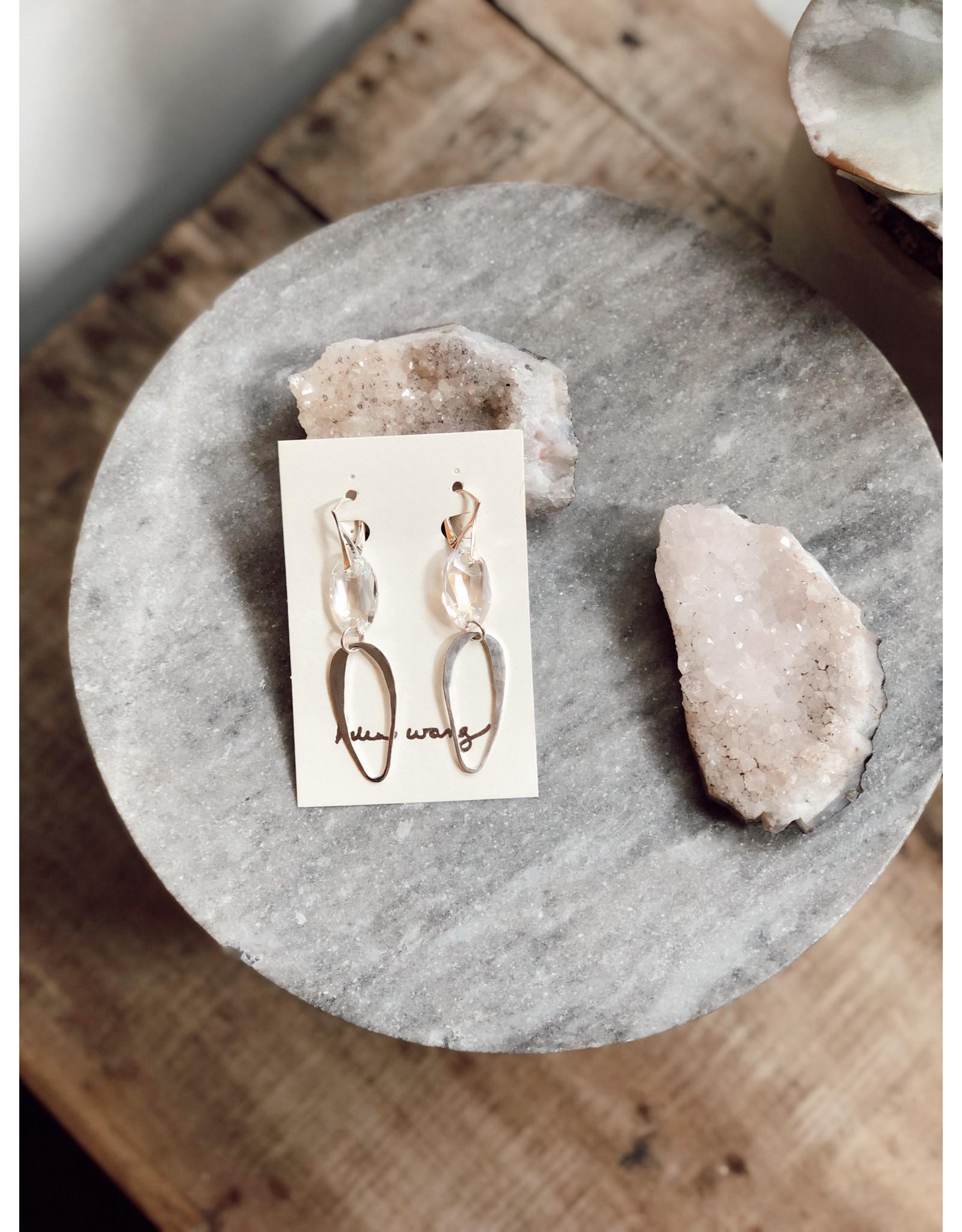 Helen Wang HW Swarovski Teardrop Earrings