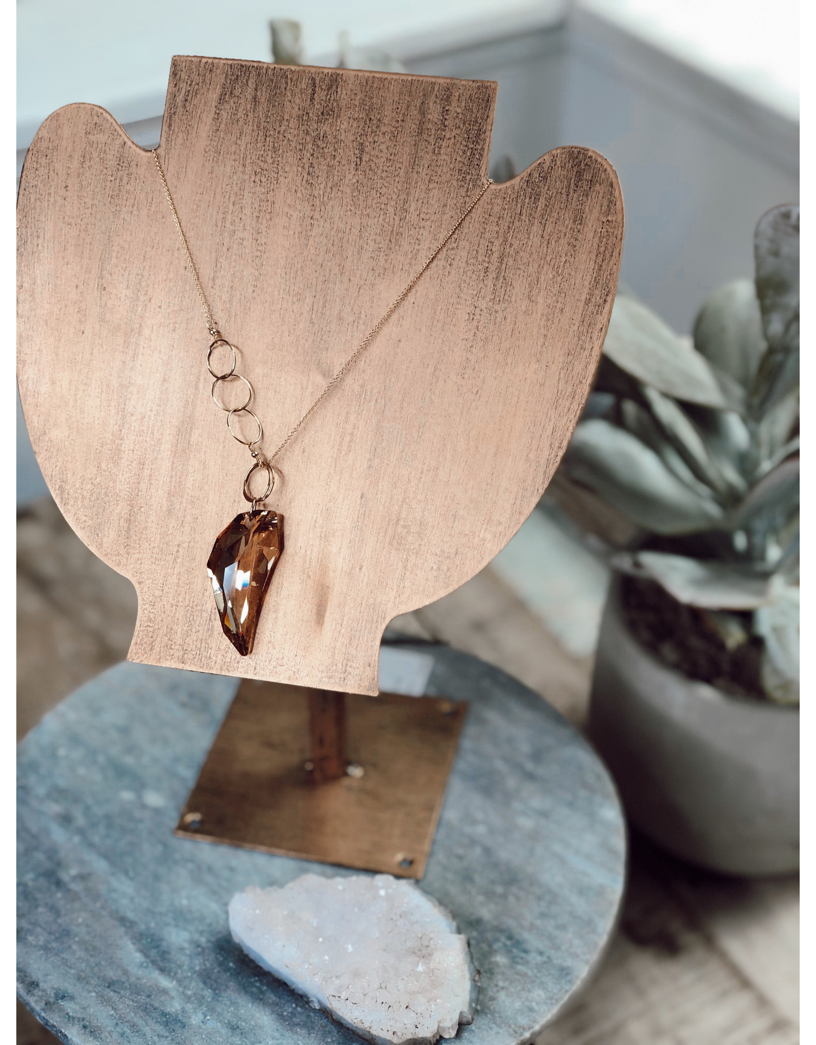 Helen Wang HW Swarovski Wing Necklace