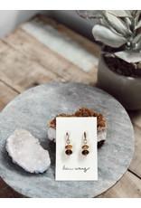 Helen Wang HW Sterling Silver AAA+ Grade Whiskey Quartz Earrings
