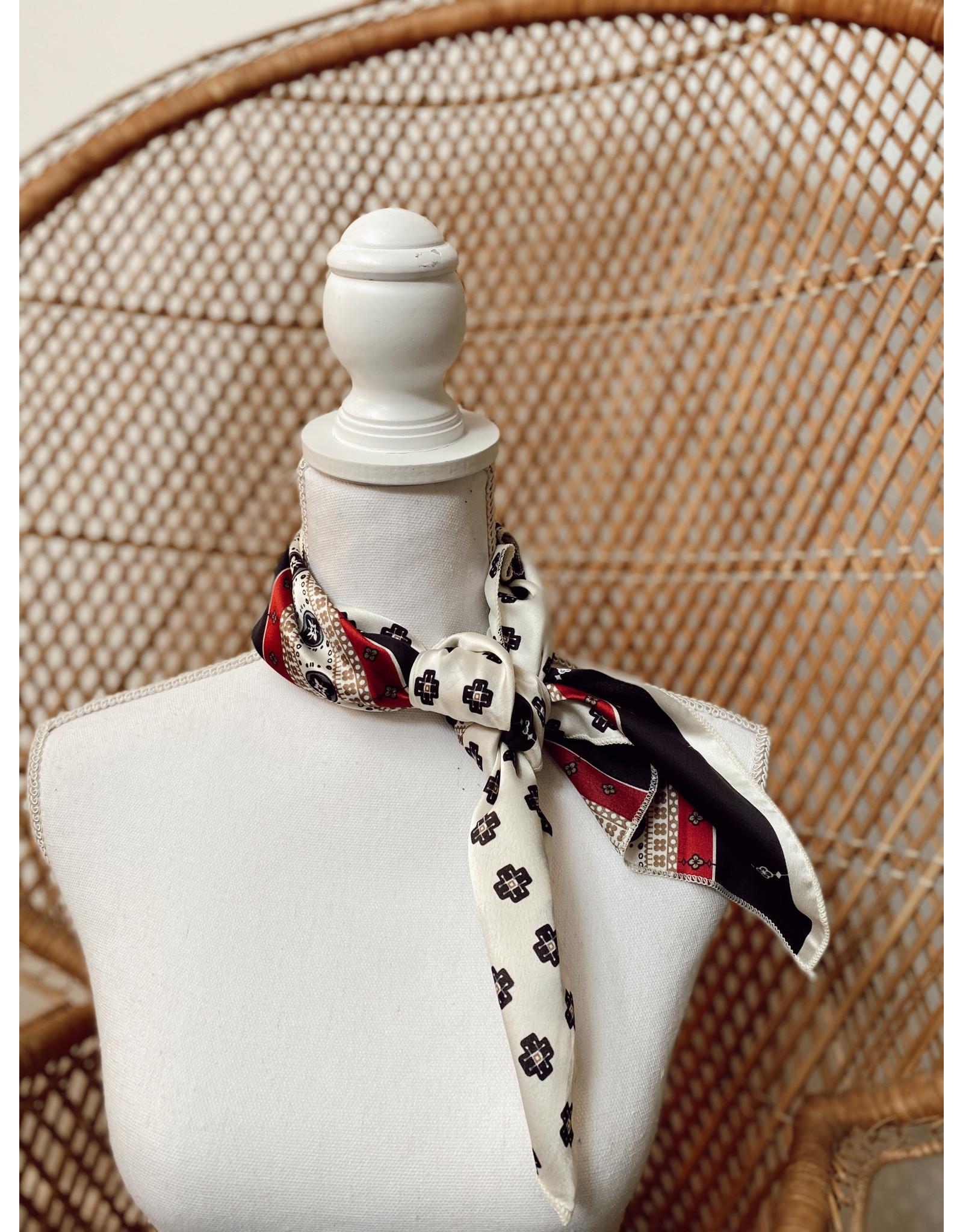 Olive & Pique Silk Handkerchief Scarves