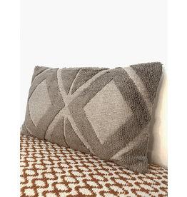 Creative Co-Op Chenille Cotton Blend Pillow