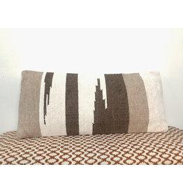 Creative Co-Op Hand-Woven Wool Kilm Pillow