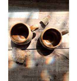Creative Co-Op Glazed Stoneware Mug