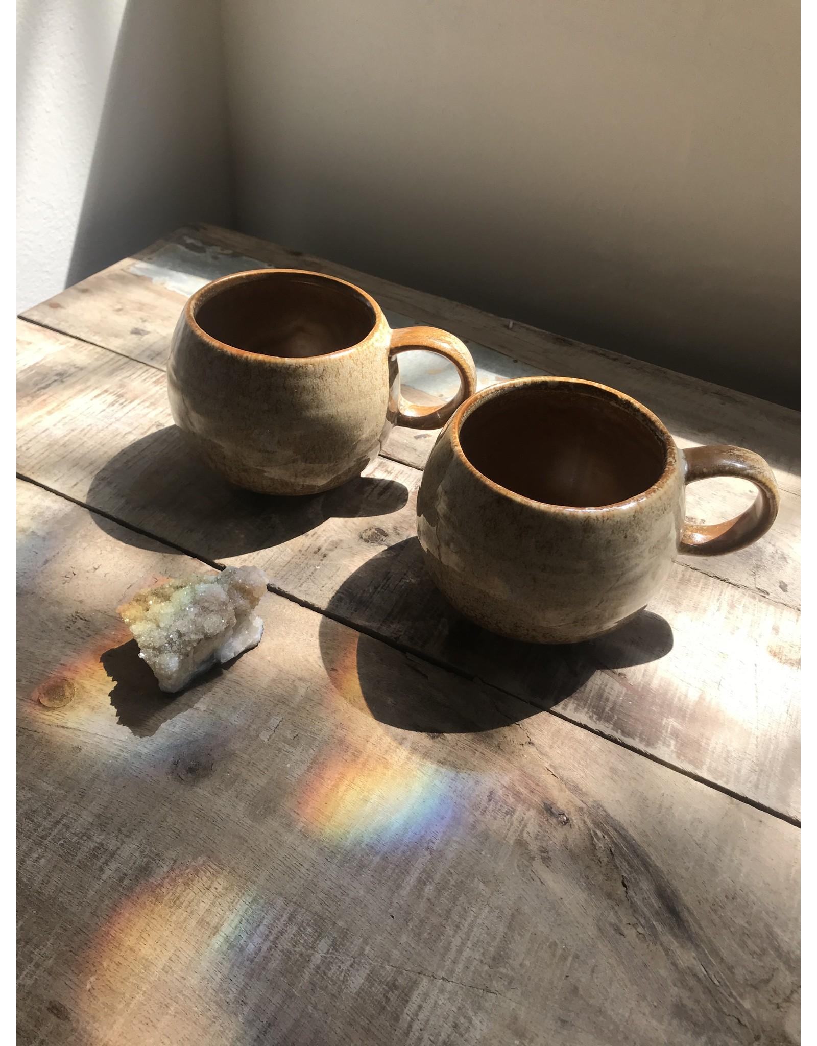 Creative Co-Op Glazed Stoneware Mug