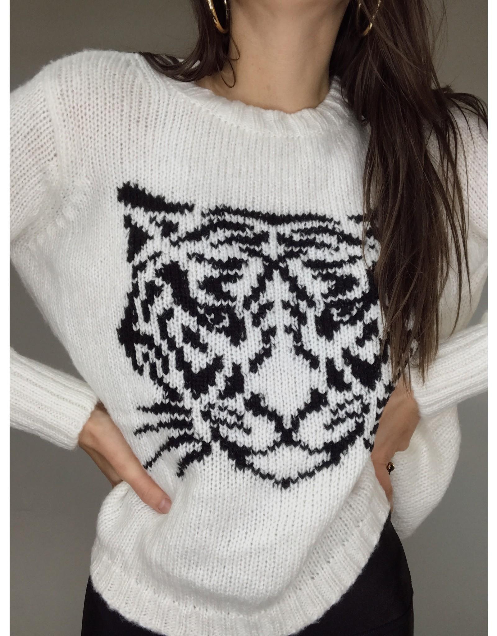 Woodenshipsknits Tiger Face