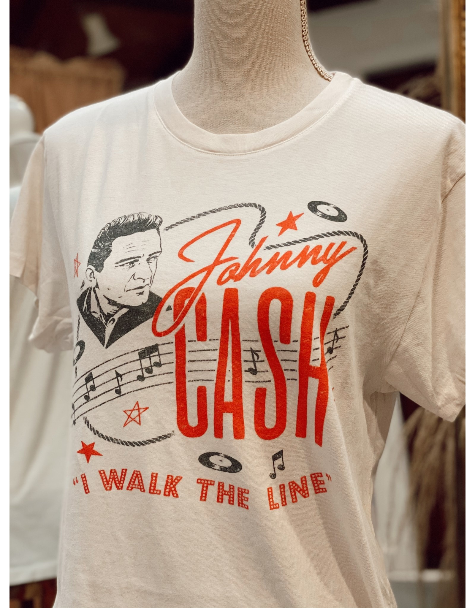 Daydreamer Johnny Cash Walk the Line Tour Tee