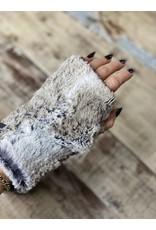 Pandemonium Reversible Faux Fur Fingerless Glove