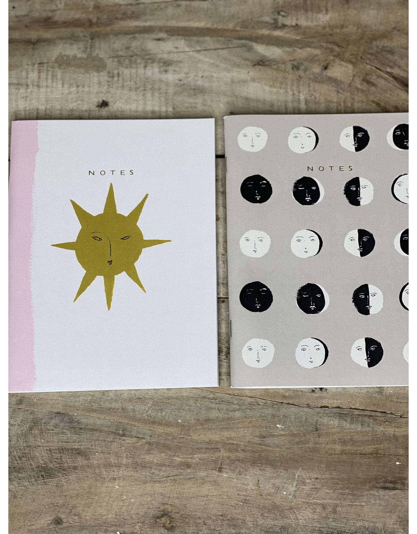 Seedlings Moon Phases Plantable Seedlings Notebook Set