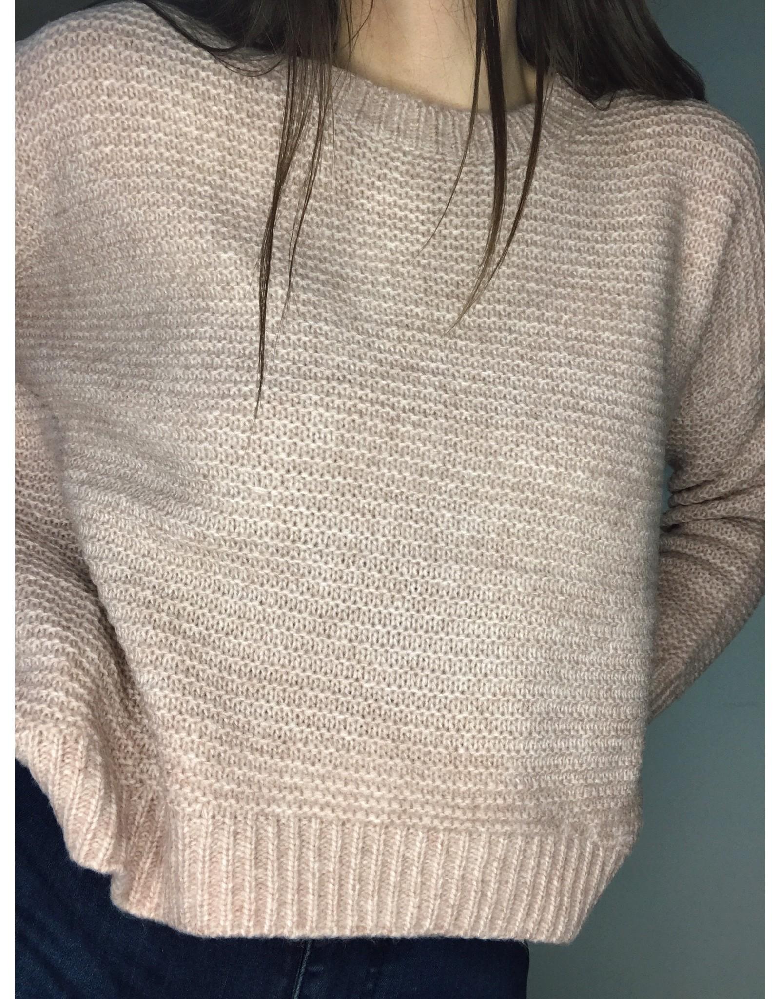 O&O Hi Lo Reverse Knit