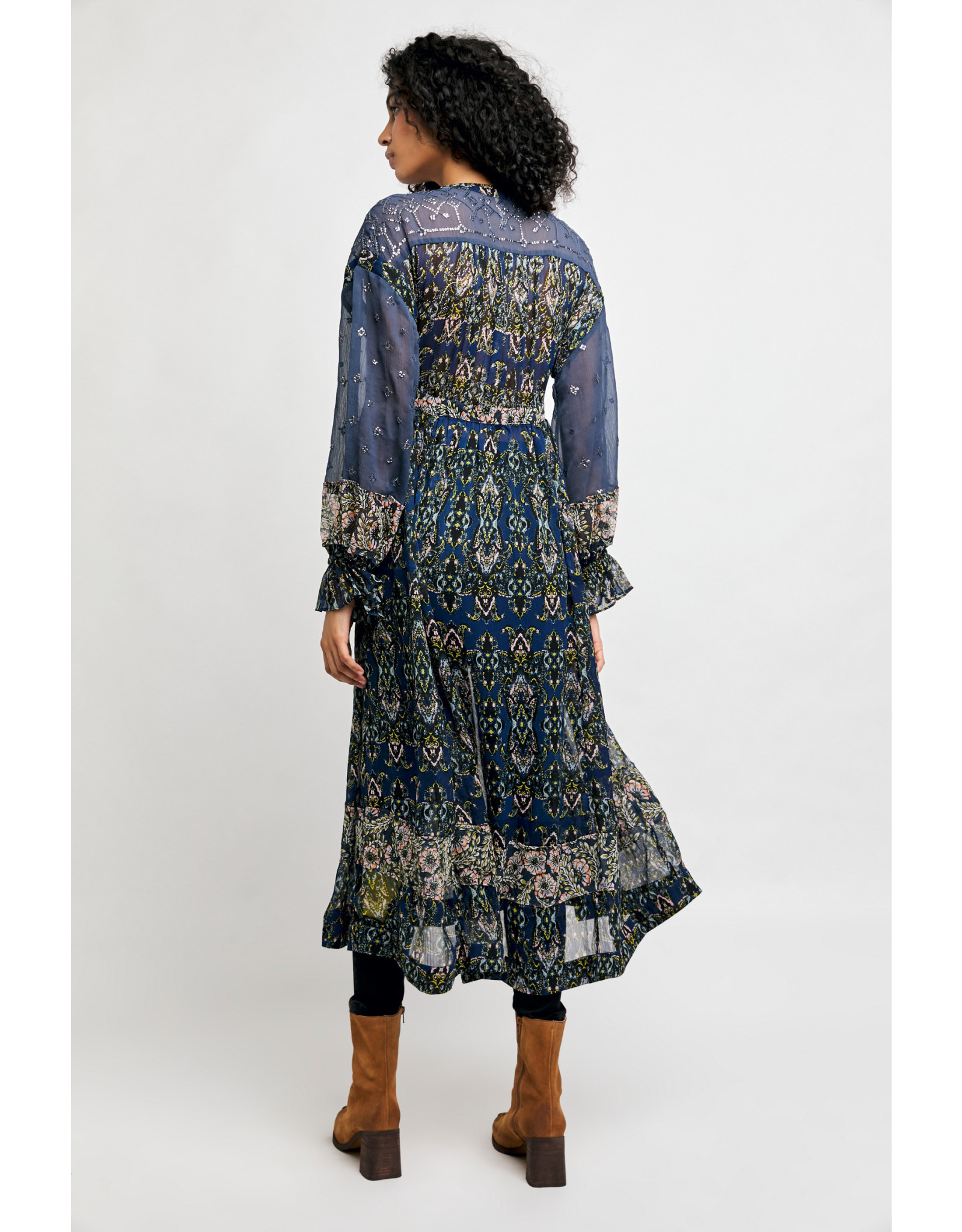 Free People Samira Maxi Top