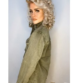 Free People Harley Military Jacket