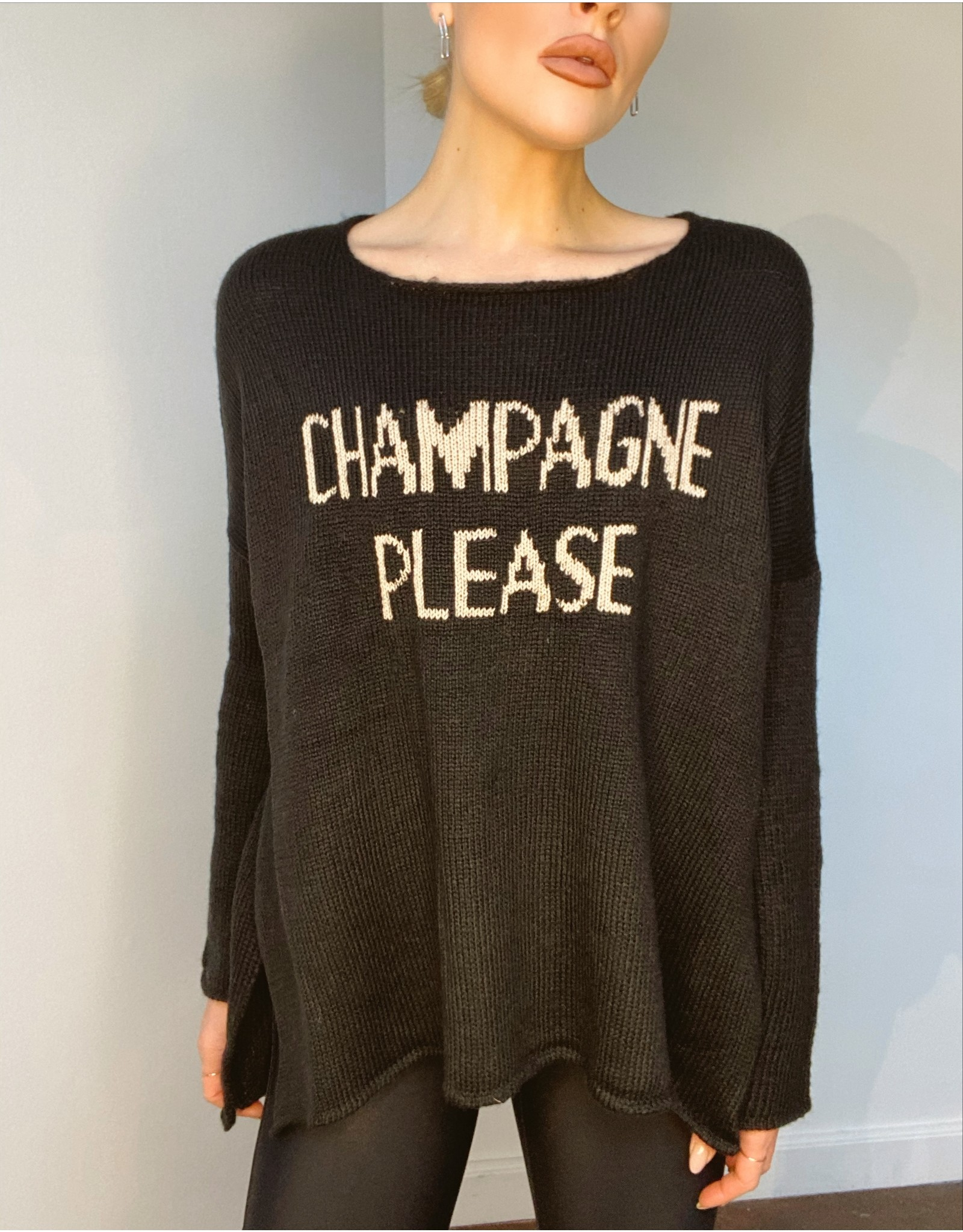 Woodenshipsknits Champagne Please