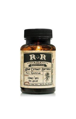 R+R Medicinals Full Spectrum Softgels