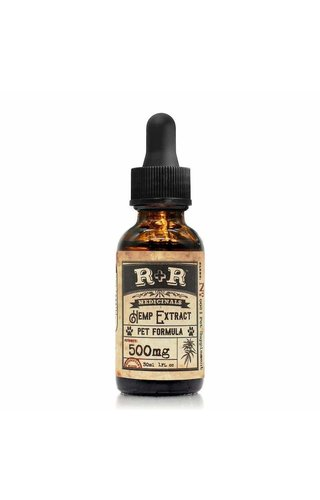 R+R Medicinals 500mg Pet Tincture