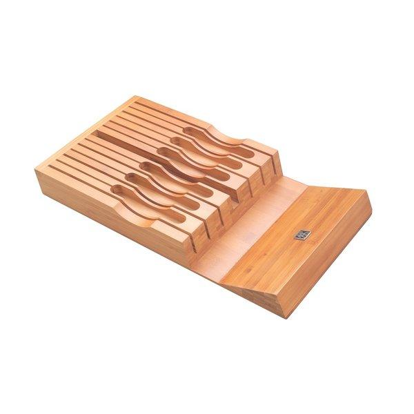 Zwilling Rangement pour coutreau en bamboo - Tirroir - Zwilling/Henckels