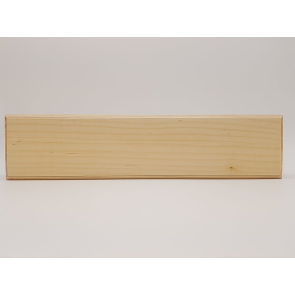 """L'Aiguisoir Barre magnétique artisanale 13"""" - Érable - L'Aiguisoir"""