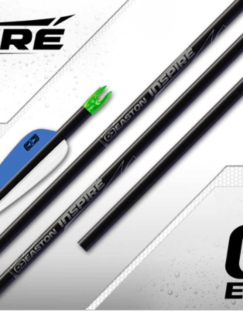 Easton Inspire Arrow Shafts - Prefletched