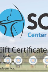 Archery Gift Certificate