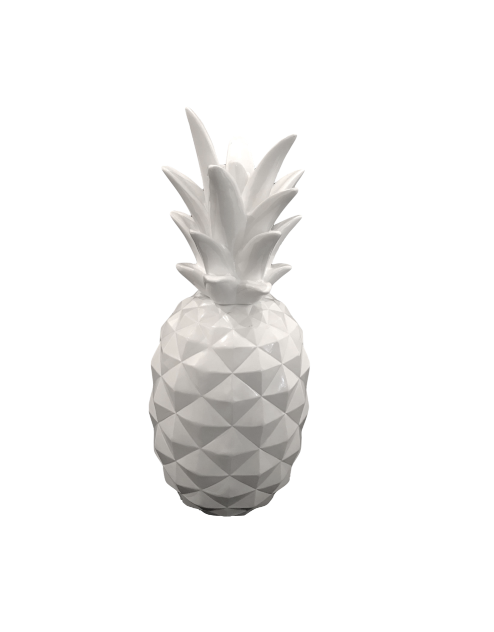 Vintage Acrylic White Pineapple