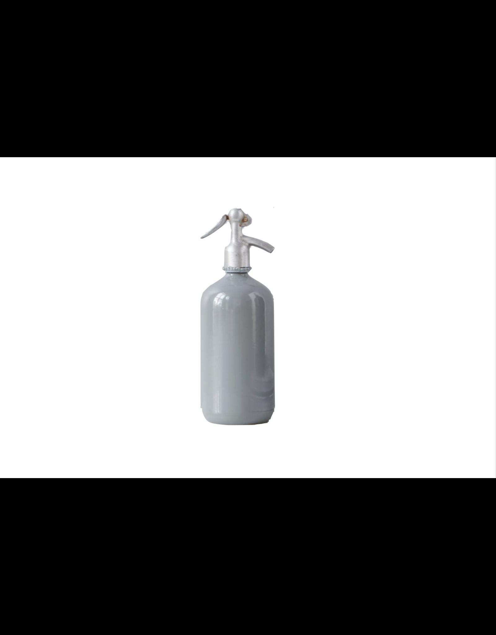 Grey Seltzer Bottle