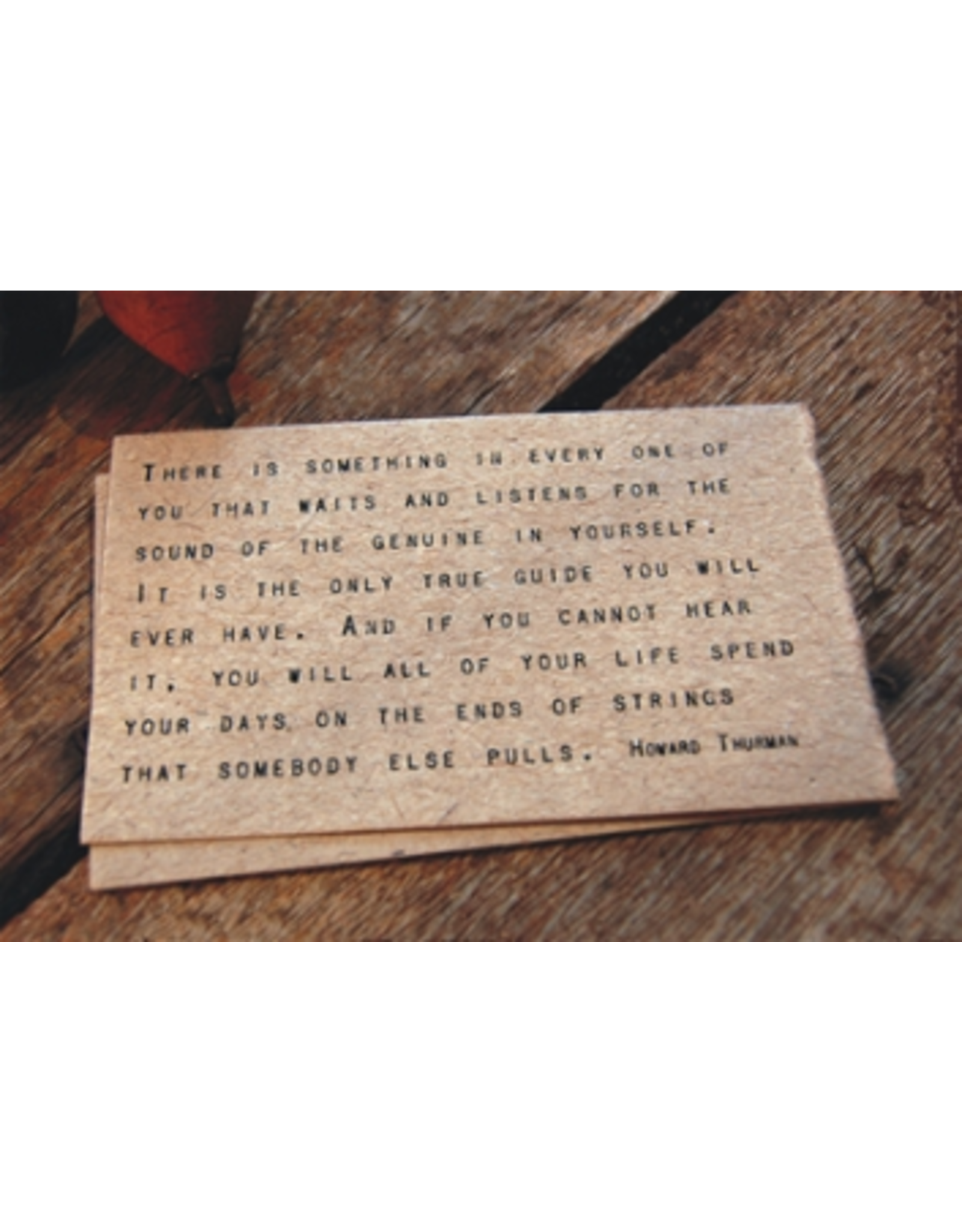 Gathered Thoughts Quote
