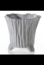 "Mellie Pot 3.25"" x 3"" White"
