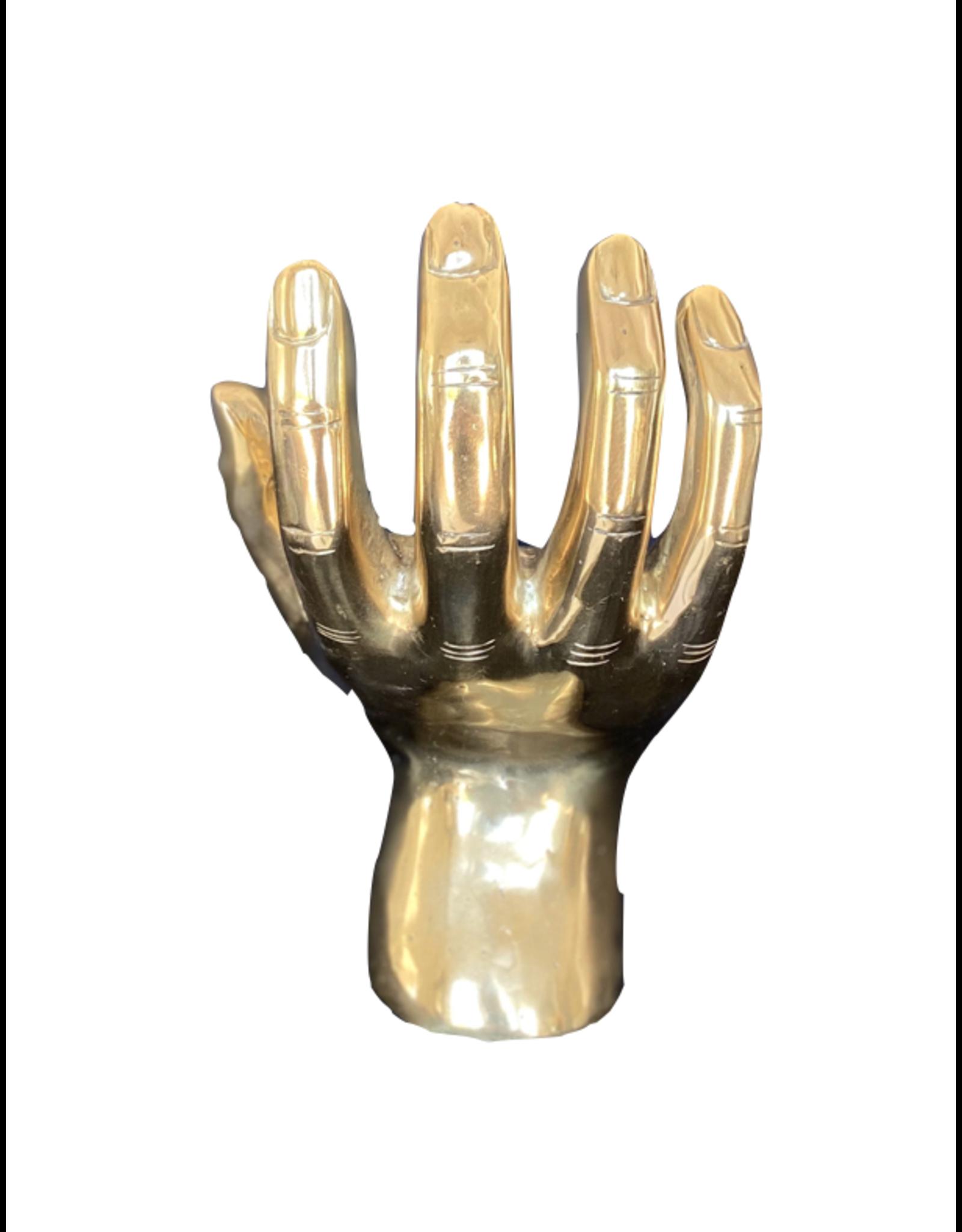Brass Palms Up