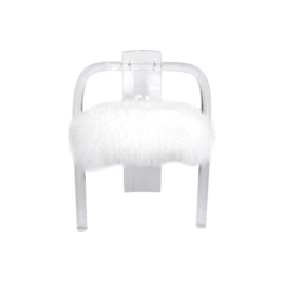 Midcentury Charles Hollis Jones Lucite Acrylic Chair