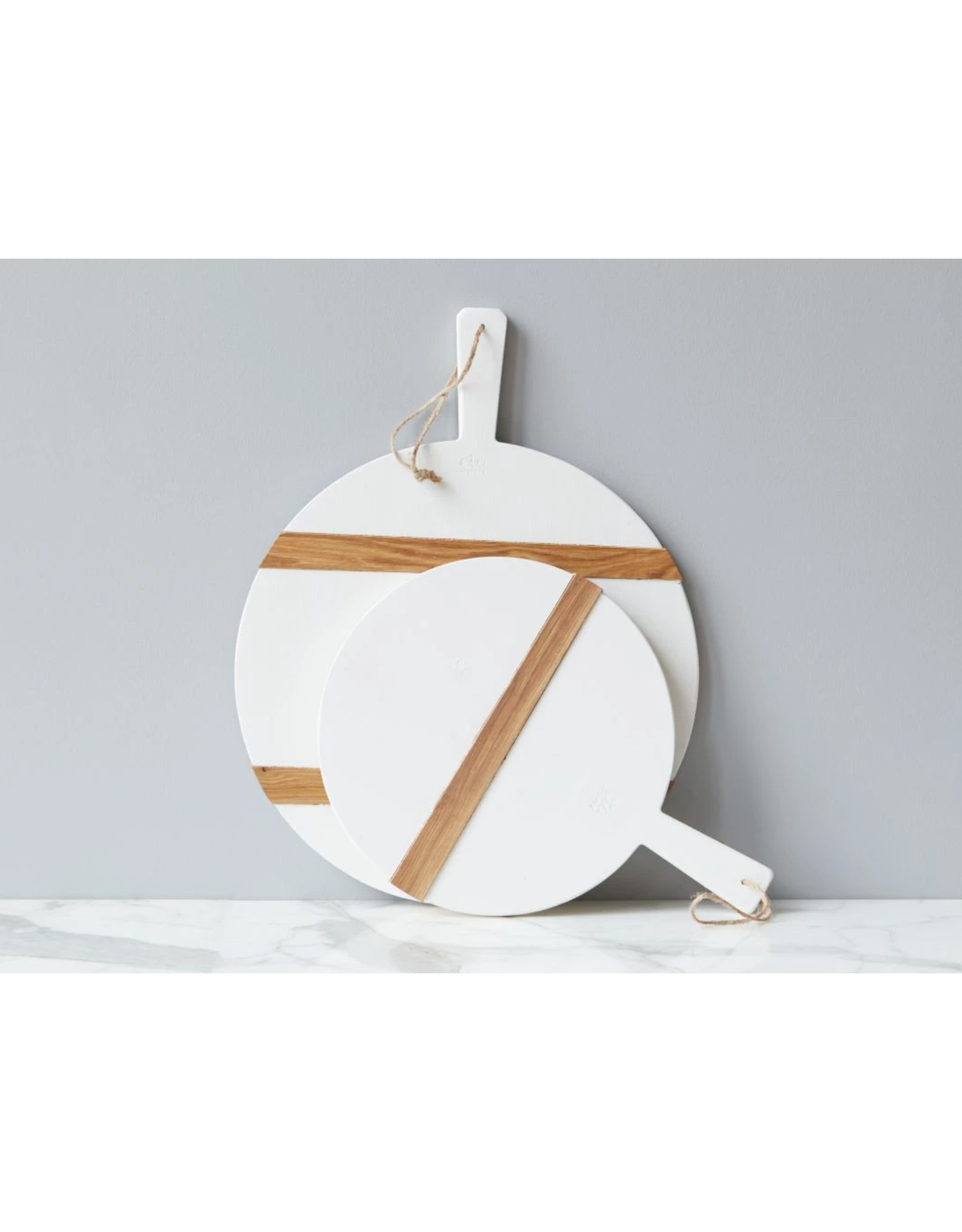 White Mod Charcuterie -Medium Round