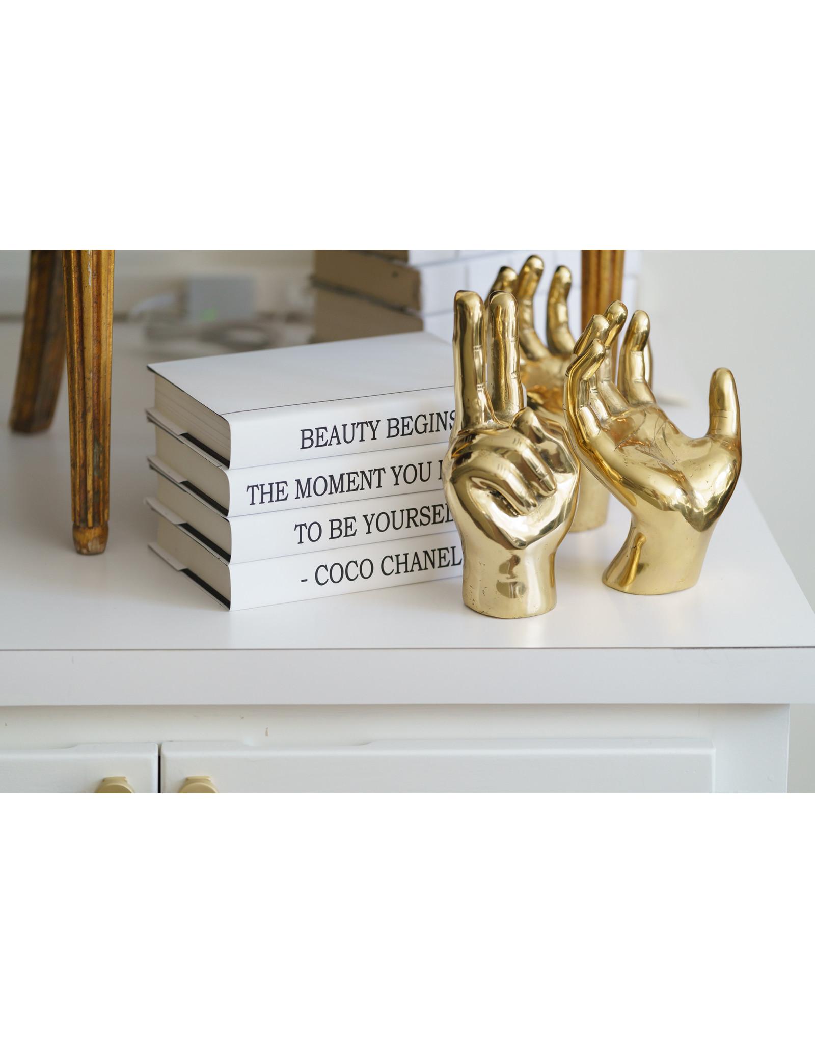 Brass Peace Sign