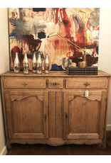 18th Century French Oak Buffet Chest With Bleached Finish
