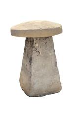 Saddle Stone Mushroom Made of Stone, England