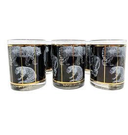 Vintage Georges Briard Cocktail Glasses- Set of 6