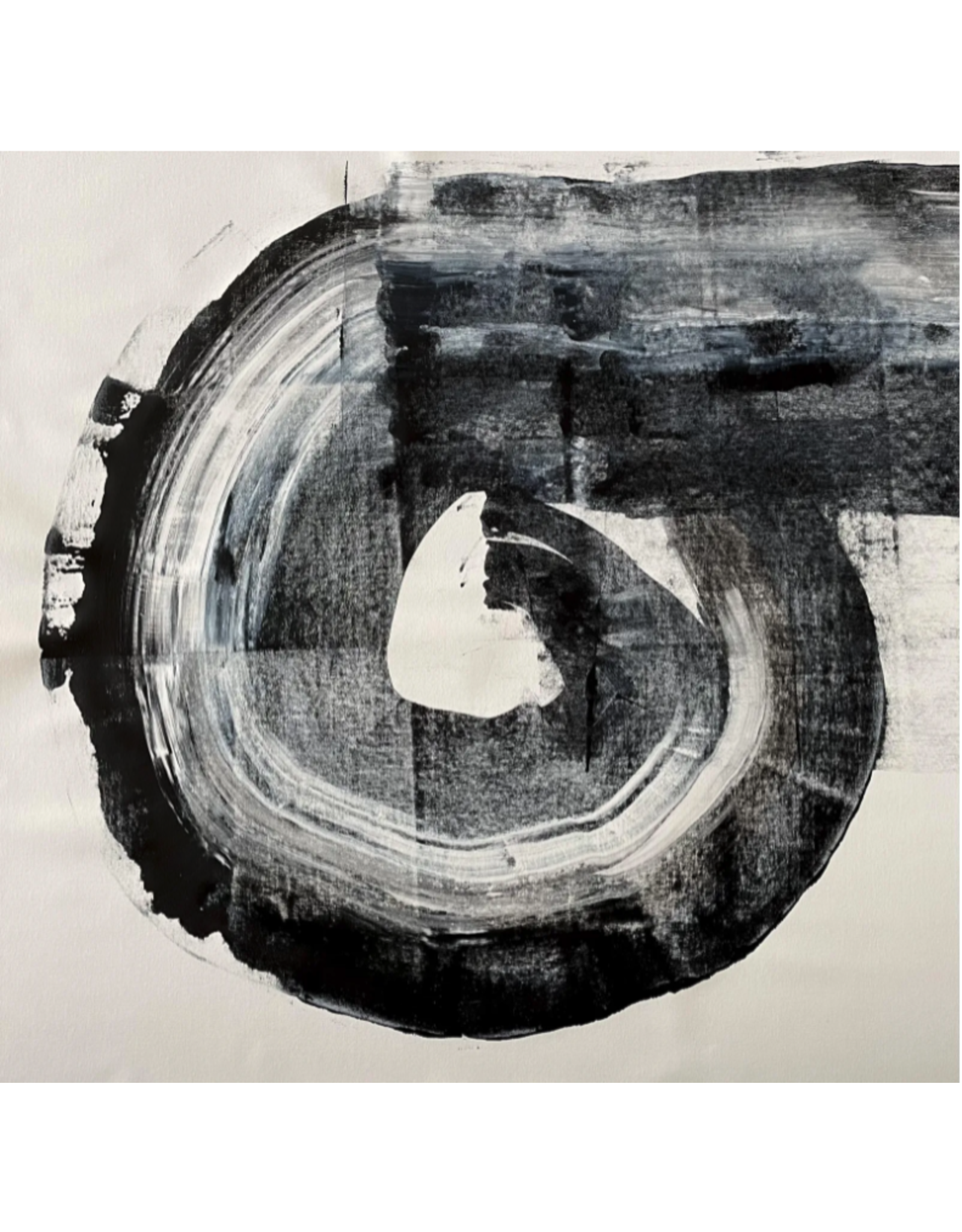 Abstract minimalist - acrylic on canvas #2
