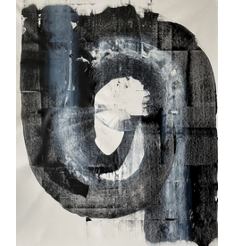 Abstract minimalist - acrylic on canvas #1