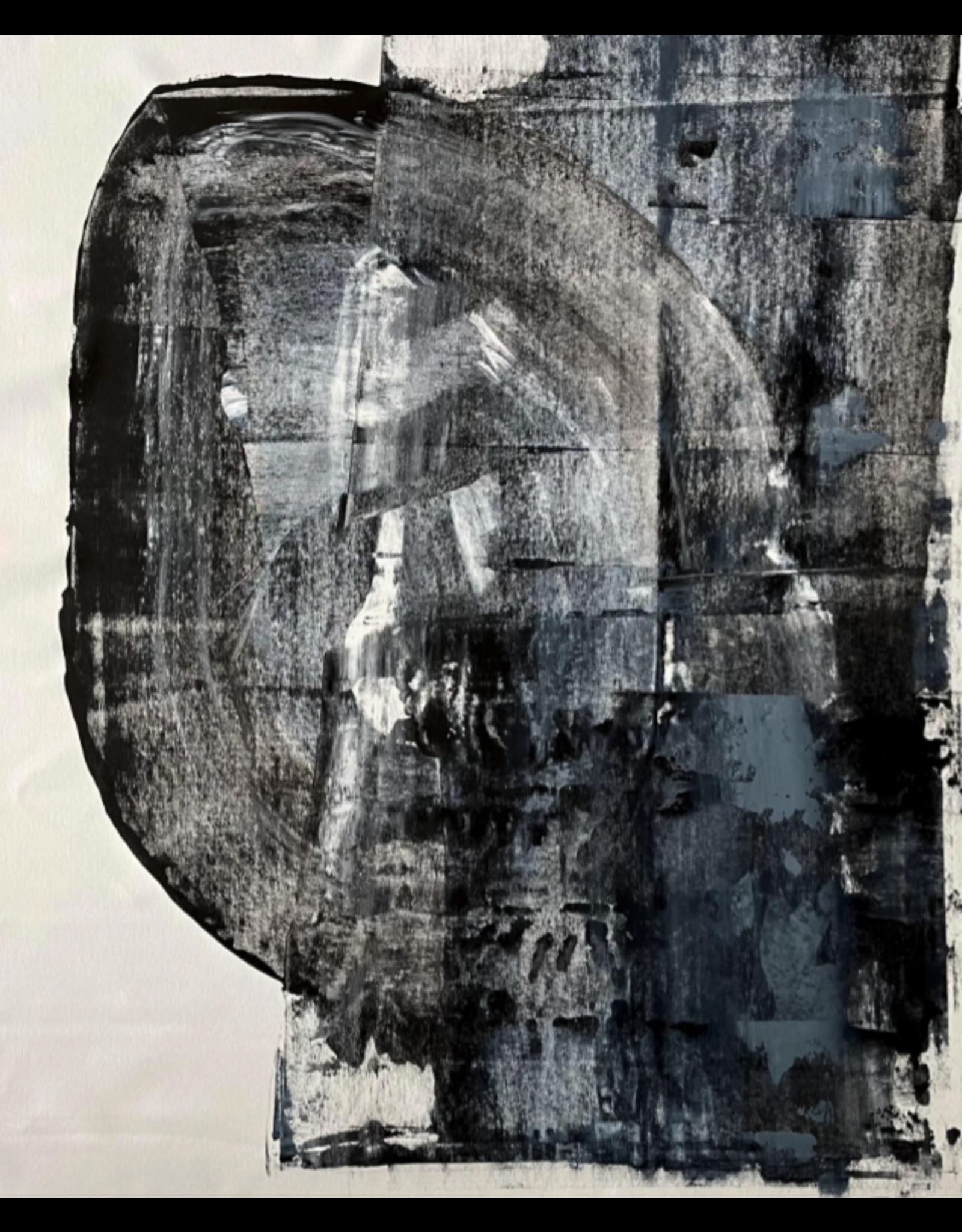 Abstract minimalist - acrylic on canvas #4