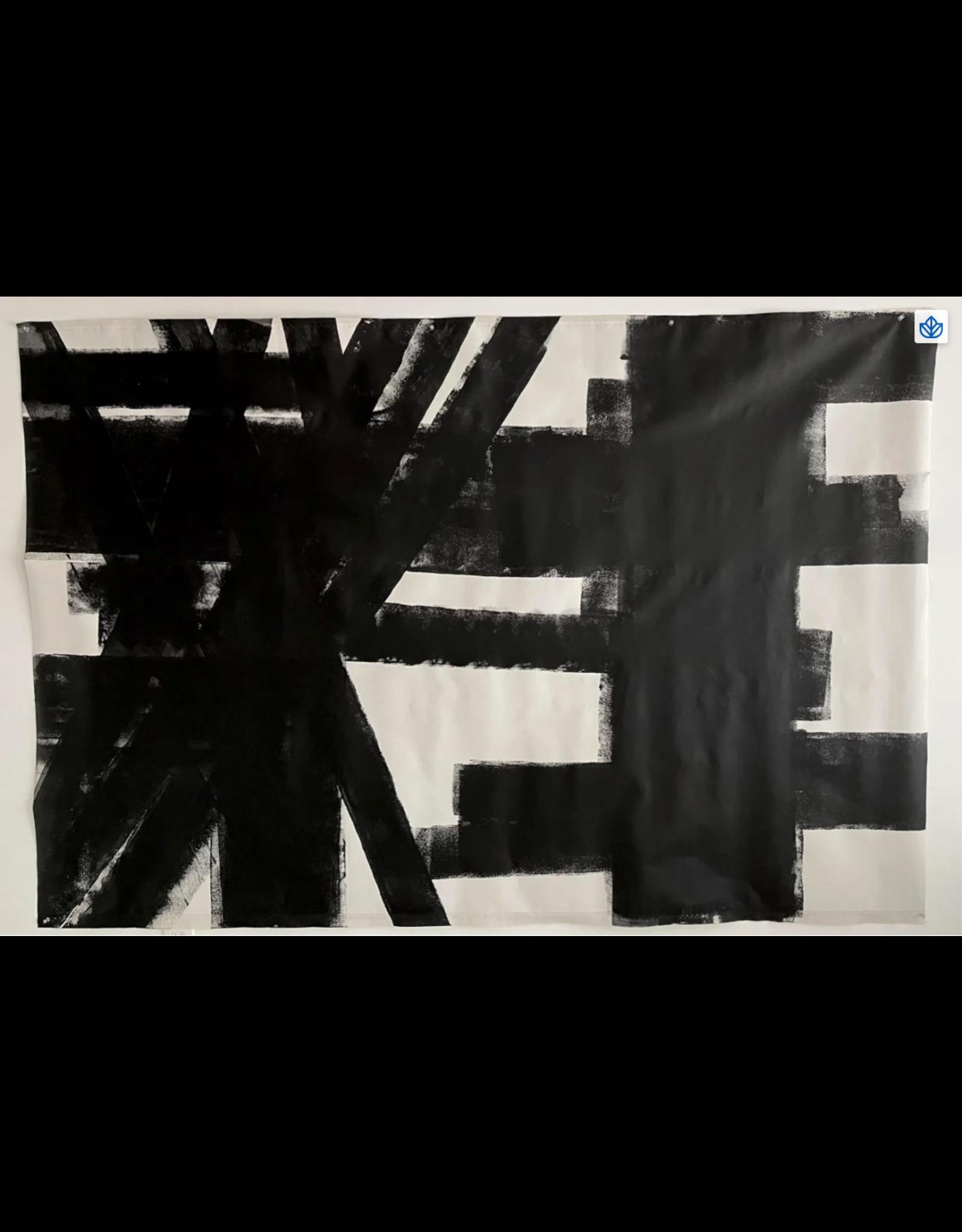 Abstract minimalist - acrylic on canvas #5
