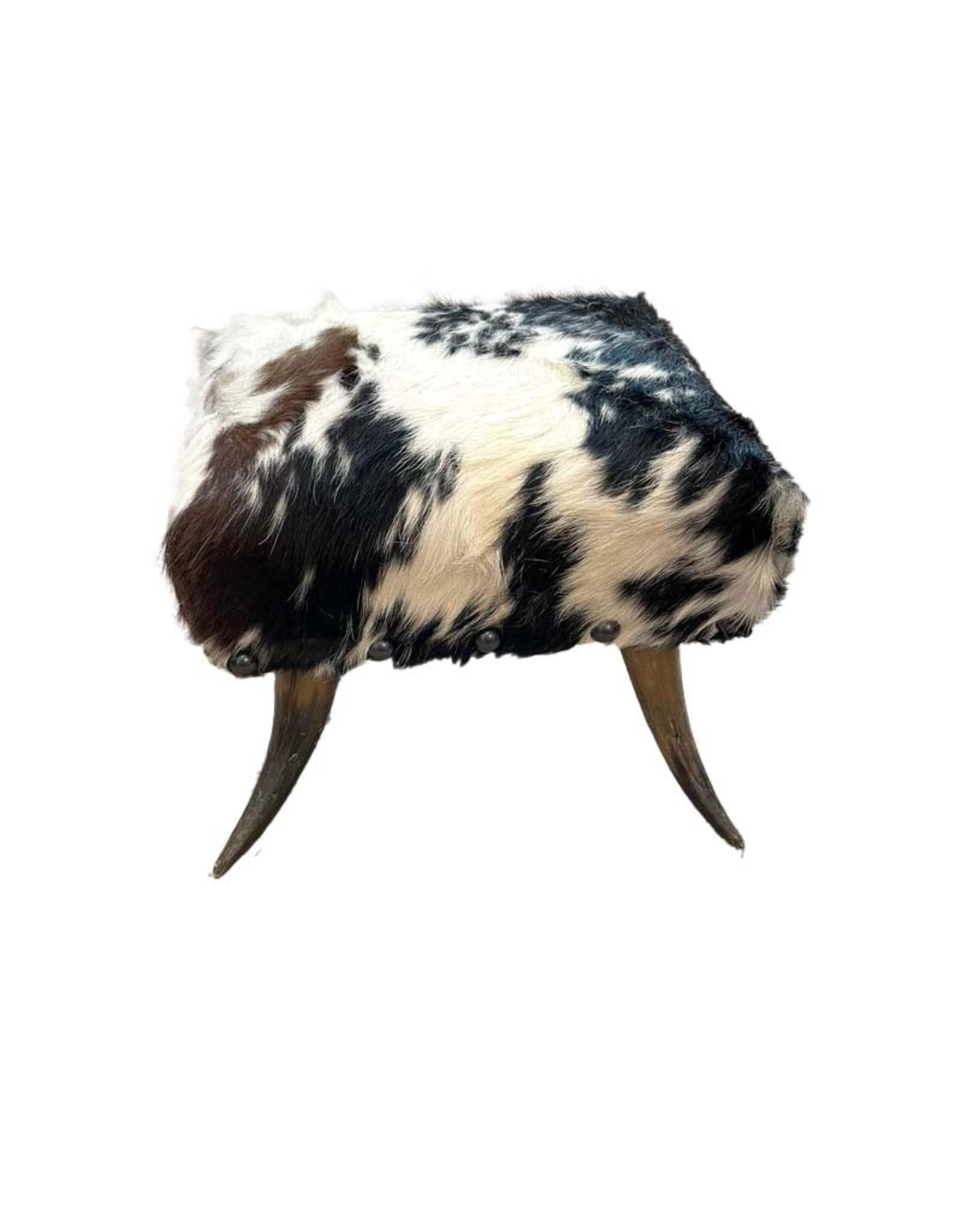 Horn Foot Stool