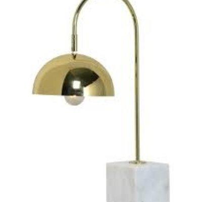Table lamp - VALDOSTA gold/marble - RW