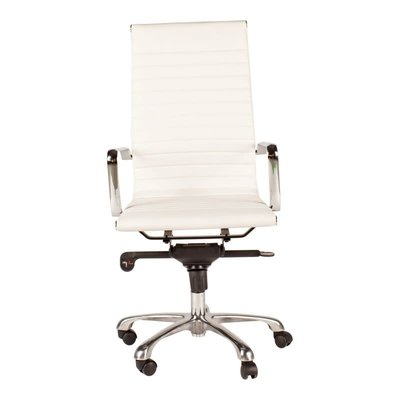 Office chair - OMEGA M2 HIGH BACK WHITE - MS